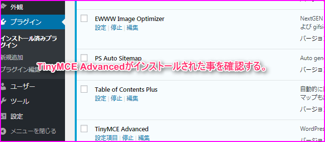 TinyMCE Advanced_setting4