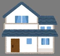 レンタルサーバーに設定した独自ドメインにWordPressのインストールするイメージとして挙げている家の画像